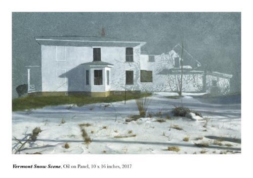 Vermont Snow Scene