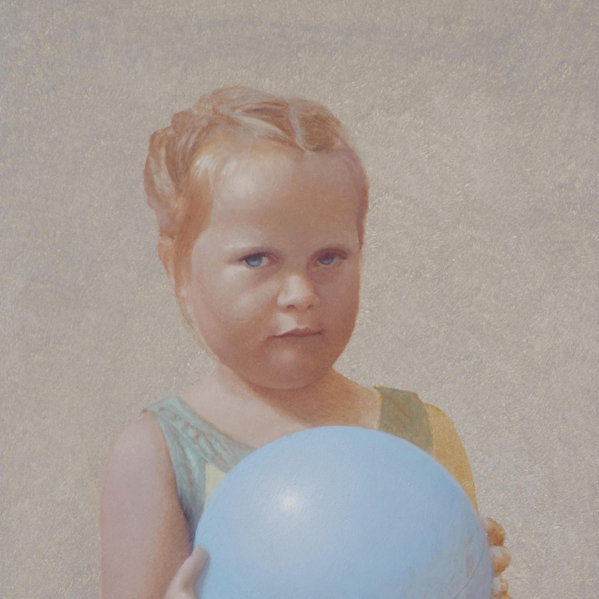 Ayla, oil on panel, 10.75 x 7.25 inches, 2020