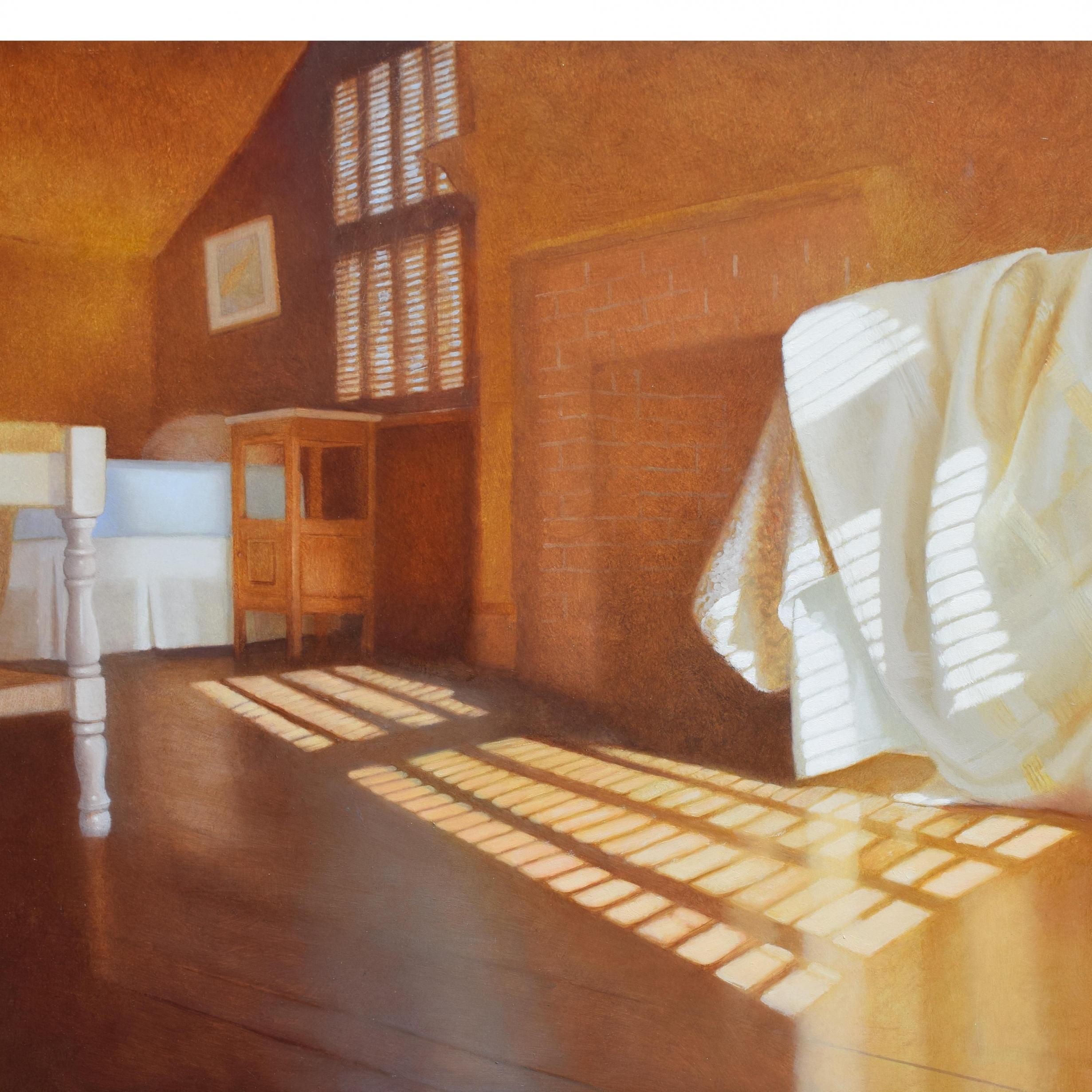 Baumgarten, North Room, 16 x 24 inches, oil on panel